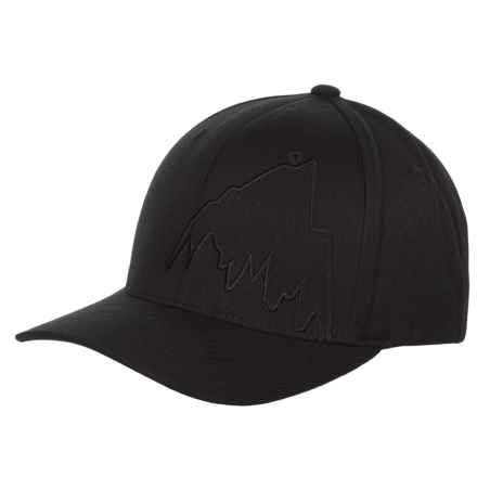 Burton Slidestyle Mountain Flex Baseball Cap (For Men) in True Black - Closeouts