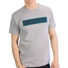 Burton Slow Motion T-Shirt - Short Sleeve (For Men) in Heather Grey - Closeouts
