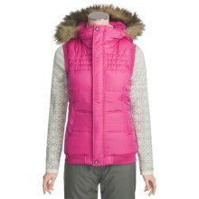 Burton Sly Vest - Insulated (For Women) in Cosmo - Closeouts