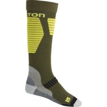 Burton Snowboard Socks - Midweight, Over the Calf (For Men) in Keef - Closeouts