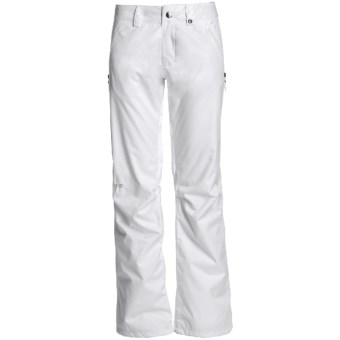 Burton Society Snow Pants - Waterproof, Thinsulate® (For Women) in Bright White