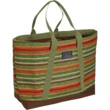 Burton Sofie 40L Tote Bag (For Women) in Blanket Stripe Print - Closeouts