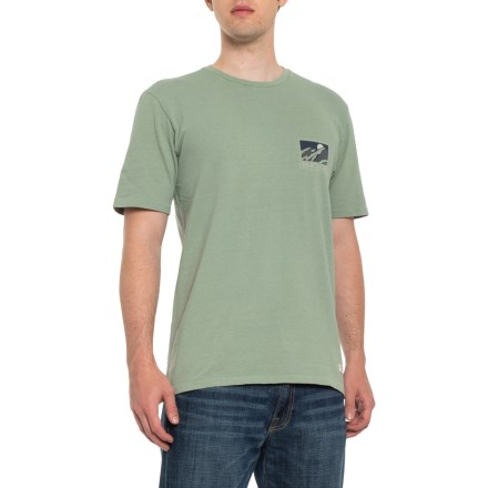 addafe66 Burton Solid Runner T-Shirt - Short Sleeve (For Men) in Lily Pad