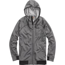 Burton Sophisto Fleece Hoodie - Full Zip (For Men) in True Black Heather - Closeouts