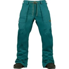 Burton Southside Snowboard Pants - Waterproof (For Men) in Pine Glenn - Closeouts