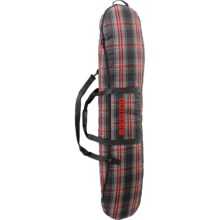 Burton Space Sack Snowboard Bag in Black Plaid - Closeouts