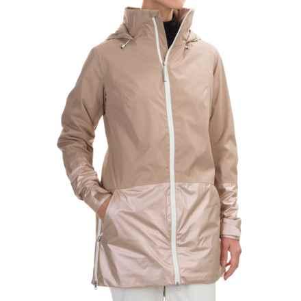 Burton Spectra Snowboard Jacket - Waterproof, Insulated (For Women) in Sandstruck/Sandstruck Metallic - Closeouts