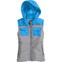 Burton Spruce Vest - Hooded (For Women) in True Black - Closeouts