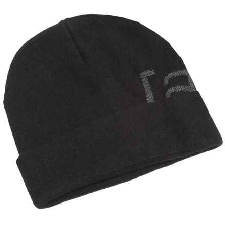 Burton Stagger Beanie - Wool Blend (For Men) in True Black - Closeouts