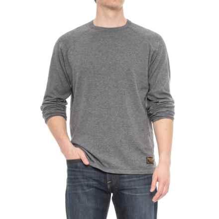 Burton Stowe Raglan Sweater (For Men) in Dark Ash Heather - Closeouts
