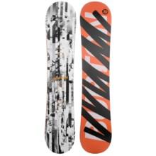 Burton Super Hero Smalls Snowboard (For Youth) in 134 Graphic/Orange/Black/White - Closeouts