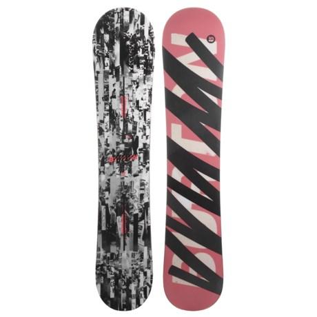 Burton Super Hero Snowboard in 151 Objection/Pink/Black/White