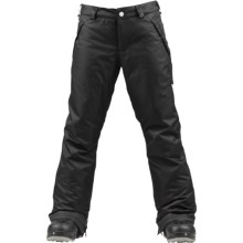 Burton Sweettart Snowboard Pants - Insulated (For Girls) in True Black - Closeouts