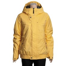 Burton Tabloid Jacket - Insulated (For Women) in Gold Digger - Closeouts