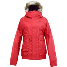 Burton Tabloid Jacket - Insulated, Fur-Trimmed Hood (For Women) in Fox Hunt - Closeouts