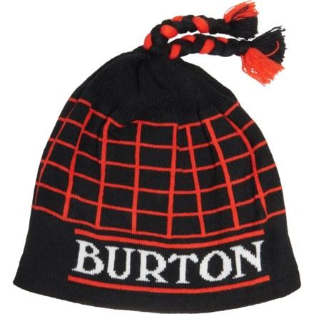 cbdceb5d Burton Tatonic Beanie (For Men) in True Black