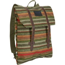 Burton Taylor Envelope Backpack (For Women) in Blanket Stripe Print - Closeouts