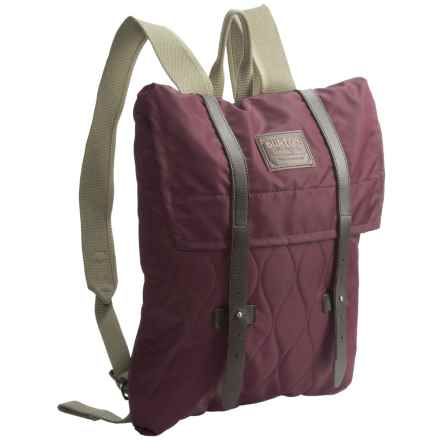 Burton Taylor Envelope Quilted Backpack (For Women) in Quilted Zinfandel - Closeouts