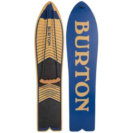 Burton The Throwback Snowboard in Blue - Closeouts