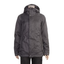 Burton The White Collection Baby Cakes Jacket - Insulated (For Women) in True Black - Closeouts