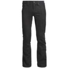 Burton The White Collection Denim Snow Pants - Waterproof (For Men) in True Black - Closeouts