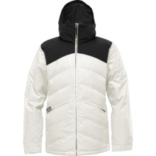 Burton The White Collection Puffaluffagus Jacket - Waterproof, Insulated (For Men) in True Black/Stout White - Closeouts