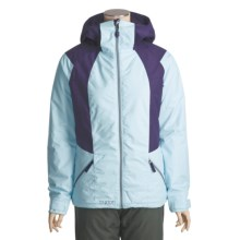 Burton Theory Jacket - Insulated (For Women) in Blue Bird Day/Mulberry - Closeouts