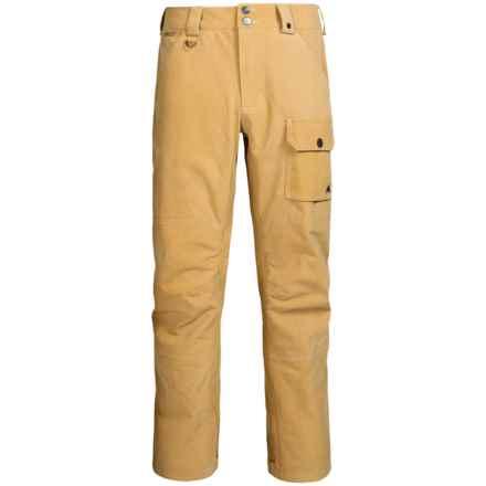 Burton Tidal Gore-Tex® Snowboard Pants - Waterproof (For Men) in Nomad Wash - Closeouts