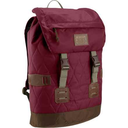 Burton Tinder Backpack (For Women) in Quilted Zinfandel - Closeouts