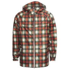 Burton Tracer 2.5L Jacket - Waterproof (For Men) in Paper Plaid - Closeouts