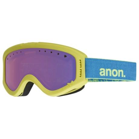 Image of Burton Tracker Ski Goggles (For Youth)