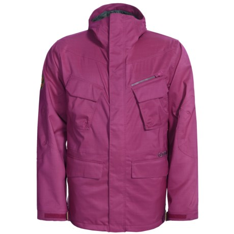 Burton Traction Jacket - Waterproof (For Men) in Poisonberry