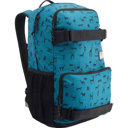 Burton Treble Yell 21L Backpack in Wallpaper - Closeouts