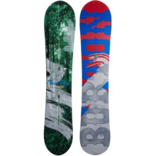 Burton Trick Pony Snowboard in Forest/Smoke/Red/Blue - Closeouts