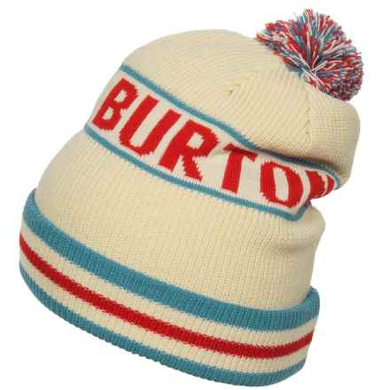 Burton Trope Beanie (For Men) in Canvas - Closeouts