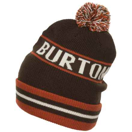 Burton Trope Beanie (For Men) in Mocha - Closeouts