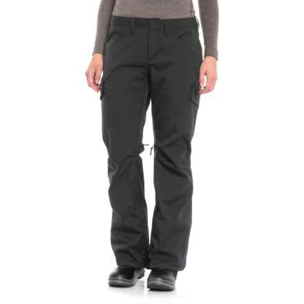 Burton True Black Gloria Pants - Waterproof, Short (For Women) in True Black - Closeouts