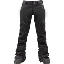 Burton TWC Boom Sticks Snow Pants - Waterproof (For Women) in True Black - Closeouts