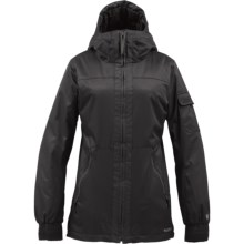 Burton TWC Boomsticks Jacket - Insulated (For Women) in True Black - Closeouts
