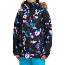 Burton TWC Charlie Snowboard Jacket (For Women) in Tie Dye - Closeouts