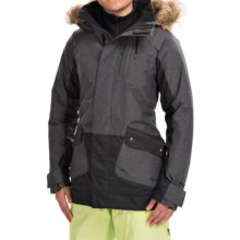 Burton TWC Charlie Snowboard Jacket (For Women) in True Black - Closeouts