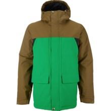 Burton TWC Headliner Snowboard Jacket - Waterproof, Insulated (For Men) in Hickry/Turf/True Black - Closeouts