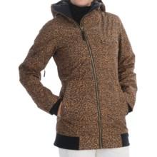 Burton TWC Maverick Snowboard Jacket - Waterproof, Insulated (For Women) in Cheeta - Closeouts