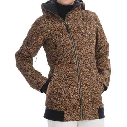Burton TWC Maverick Snowboard Jacket - Waterproof, Insulated (For Women) in Cheeta - Closeouts