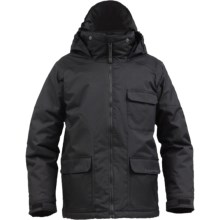 Burton TWC Prizefighter Snowboard Jacket - Insulated (For Boys) in True Black - Closeouts