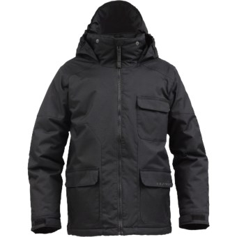 Burton TWC Prizefighter Snowboard Jacket - Insulated (For Boys) in True Black