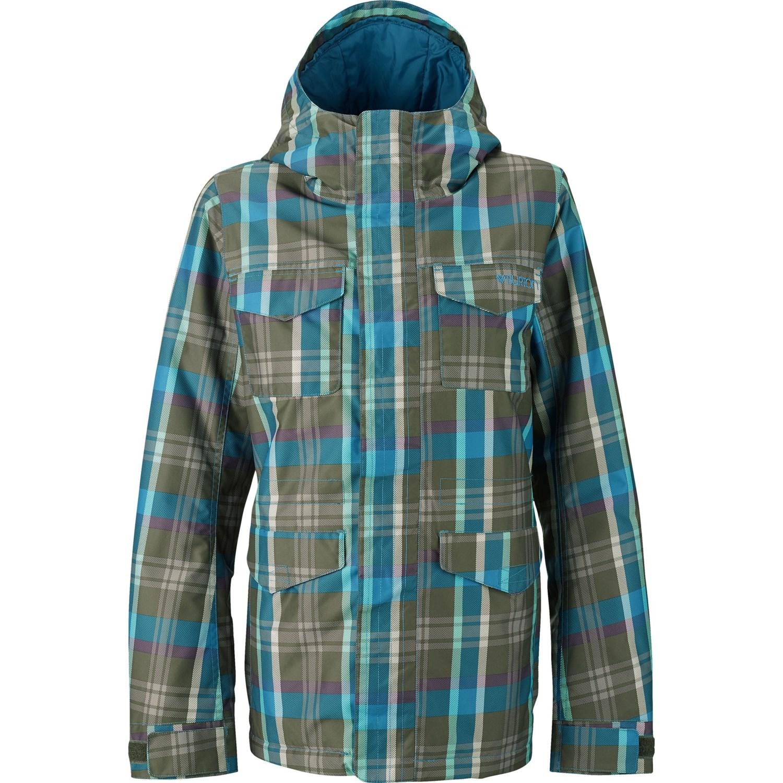 Burton TWC Search & Enjoy Snowboard Jacket - Insulated (For Women) in Hadley Plaid