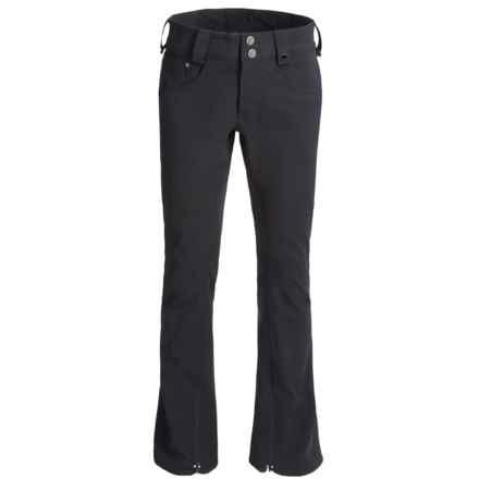 Burton TWC Signature Snowboard Pants - Waterproof, Slim Fit (For Men) in True Black - Closeouts