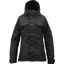 Burton TWC Sugartown Jacket - Insulated (For Women) in True Black - Closeouts