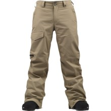 Burton TWC Throttle Snow Pants - Waterproof (For Men) in Coriander - Closeouts
